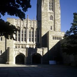 Gordon Wu Hall at Princeton University in Princeton, New Jersey by architects Robert Venturi, VSBA