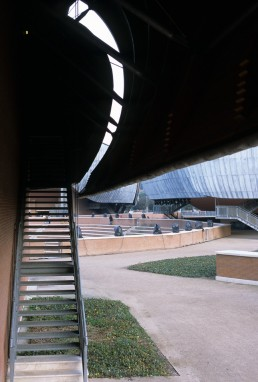 Parco della Musica in Rome, Italy by architect Renzo Piano