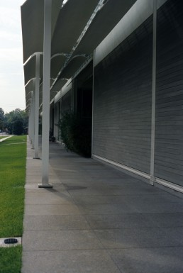 The Menil Collection in Houston, Texas by architect Renzo Piano