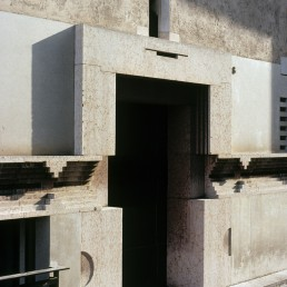 Banco Popolare in Verona, California by architect Carlo Scarpa