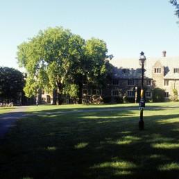 Princeton University, Wilson College Feinberg Hall by architects Tod Williams, Tod Williams Billie Tsien Architects, Billie