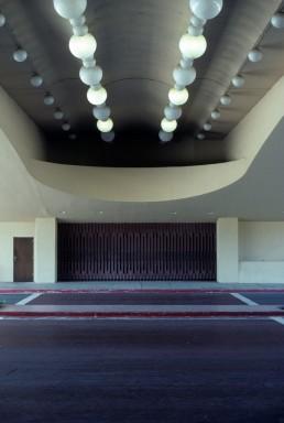 Marin County Civic Center in San Rafael, California by architect Frank Lloyd Wright