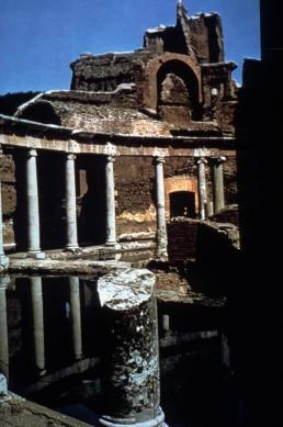 Hadrian's Villa in Tivoli, Italy