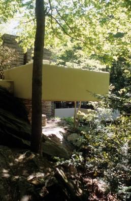 Fallingwater in Bear Run, Pennsylvania by architect Frank Lloyd Wright