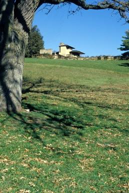 Taliesin in Spring Green, Wisconsin by architect Frank Lloyd Wright