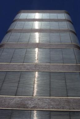 Johnson Wax Headquarters in Racine, Wisconsin by architect Frank Lloyd Wright