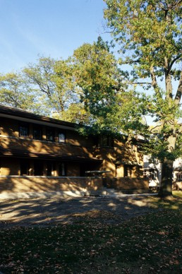 Harry S. Adams House in Oak Park, Illinois by architect Frank Lloyd Wright