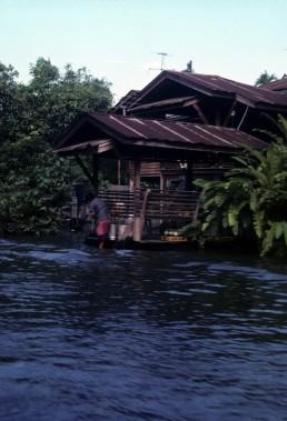 Bangkok Chao Phraya River District in Bangkok, Thailand