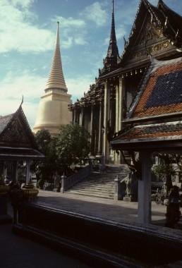 Phra Borom Maha Ratcha Wang in Bangkok, Thailand