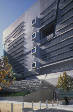 Morphosis Architecture San Francisco Federal Building Articulated Facade Operable Mesh Panels Eco Tech