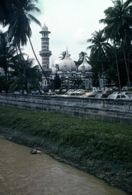 Jamek Mosque in Kuala Lumpur, Malaysia