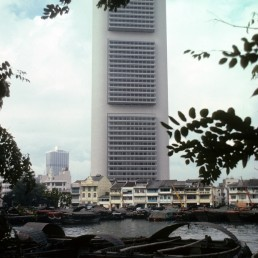 OCBC Centre in Singapore, Singapore by architects I.M. Pei, I. M. Pei & Partners