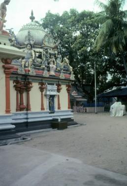 Sri Mariamman Temple in Singapore, Singapore