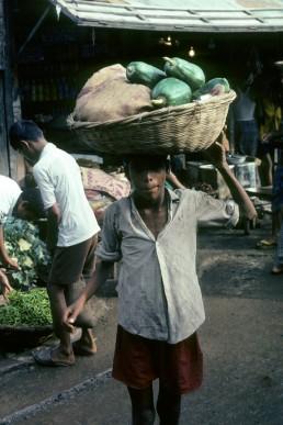 Dhaka market in Dhaka, Bangladesh