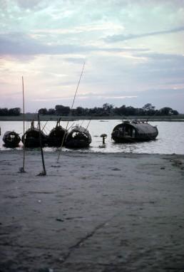 Buriganga River in Dhaka, Bangladesh