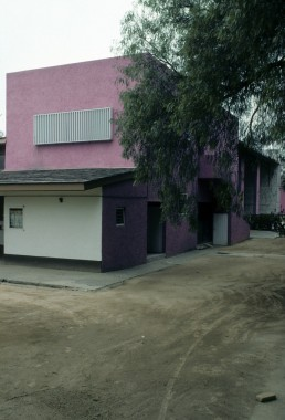 Egerstrom House and Stud Farm in Mexico City, Mexico by architect Luis Barragan