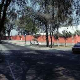 Las Arboledas in Mexico City, Mexico by architect Luis Barragan