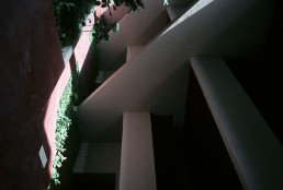 Hotel Camino Real in Mexico City, Mexico by architect Ricardo Legorreta