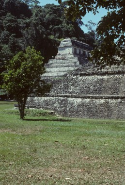 Temple of the Inscriptions in Palenque, Mexico