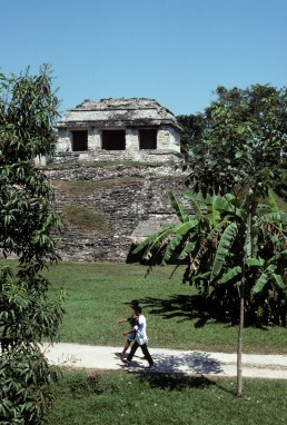 Palenque Archaeological Site in Palenque, Mexico