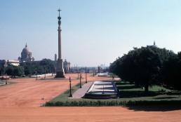 Rajpath in New Delhi, India by architect Edwin Lutyens