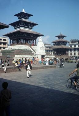 Narayanhiti Royal Palace in Kathmandu, Nepal