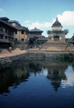 Dev Pokhari in Kirtipur, Nepal