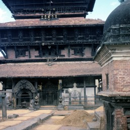 Bagh Bhairav Temple in Kirtipur, Nepal