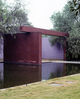 Fuente de los Amantes Lover's Fountain Luis Barragan Mexico City Larry Speck