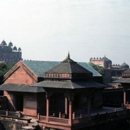 Fatehpur Sikri, Palace of Mariam-uz-Zamani in Agra, India