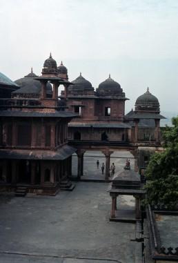 Fatehpur Sikri, Birbal's House in Agra, India