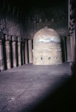 Kanheri Caves in Mumbai, India