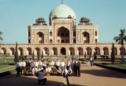 Isa Khan Niyazi Mortuary Complex, Humayun's tomb in Delhi, India by architect Mirak Mirza Ghiyath