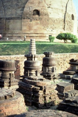 Dhamek Stupa in Sarnath, India