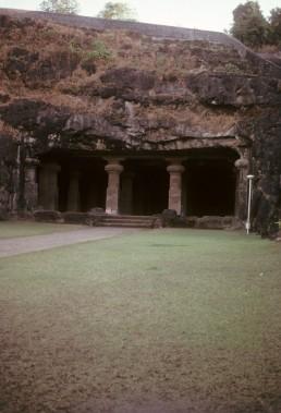 Elephanta Island Rock Cut Temple in Elephanta Island, India