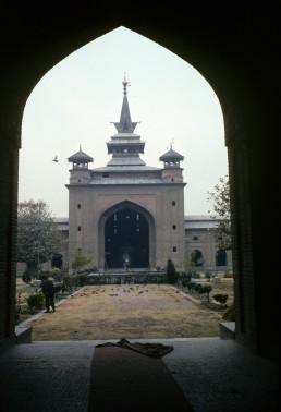 Jama Mosque in Srinagar, India