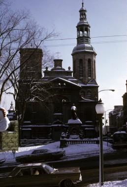 Notre-Dame de Québec in Quebec City, Canada