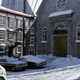 Notre-Dame-des-Victoires in Quebec City, Canada by architect François Baillairgé