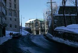 Archbishop Palace in Quebec City, Canada