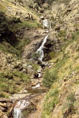 Pyrenean foothills in Andorra, Andorra