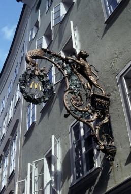 Getreidegasse in Salzburg, Austria