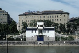 Kaiserbad Dam Control Building in Vienna, Austria by architect Otto Wagner