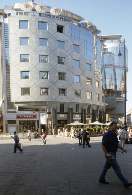 Haas-Haus in Vienna, Austria by architect Hans Hollein