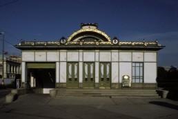 Karlsplatz Stadtbahn Station in Vienna, Austria by architect Otto Wagner