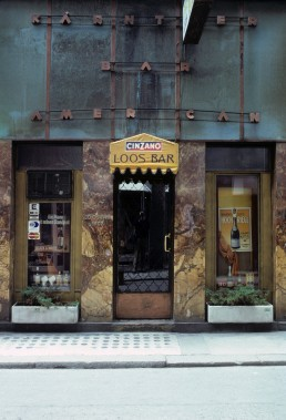 American Bar in Vienna, Austria by architect Adolf Loos