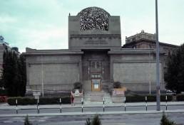 Secession building in Vienna, Austria by architects Koloman Moser, Joseph Maria Olbrich, Gustav Klimt
