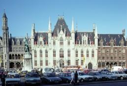 Provincial Court Building in Bruges, Belgium