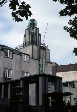 Palais Stoclet in Brussels, Belgium by architects Josef Hoffmann, Gustav Klimt, Ludwig Heinrich Jungnickel