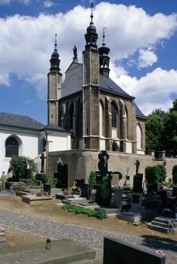 Sedlec Ossuary in Kutná Hora, Czechia by architects Jan Santini Aichel, František Rint