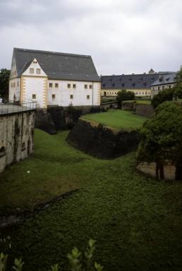 Neurathen Rock Castle in Rathen, Germany